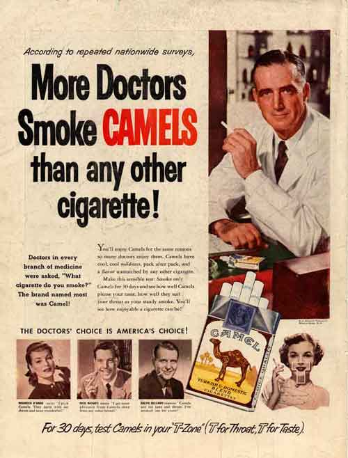 an introduction to the issue of tobacco advertising in todays society